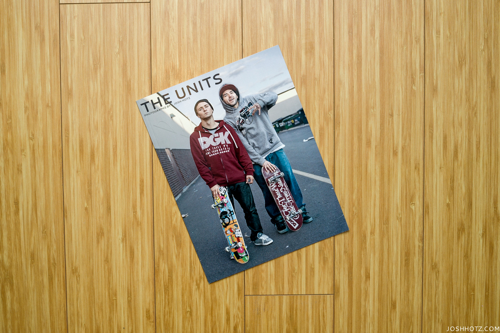 The Units: Photographs by Josh Hotz. Published by Straylight Press.