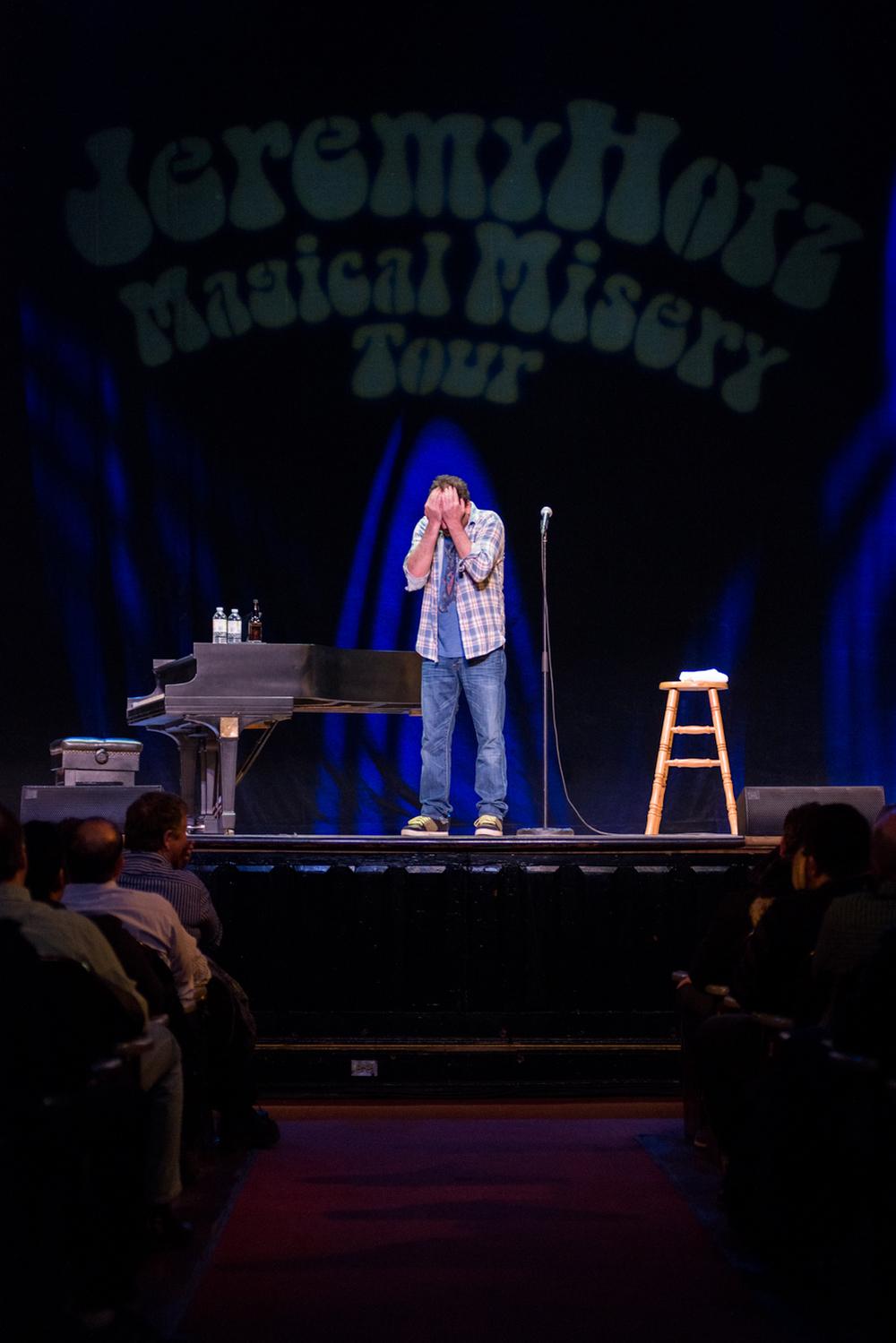 Jeremy Hotz, Magical Misery Tour, Toronto 2013
