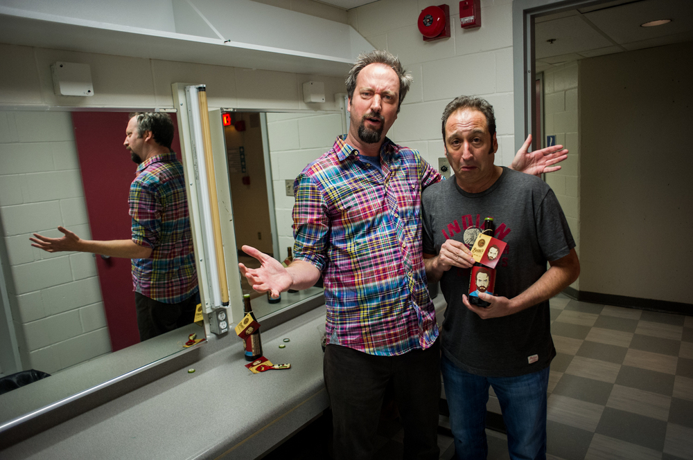 Tom Green & Jeremy Hotz, Canadian Comedy Awards, Ottawa 2013