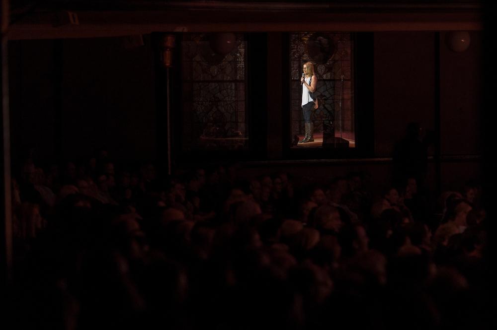 Christina Walkinshaw, Massey Hall NYE Comedy Extravaganza, Toronto 2014