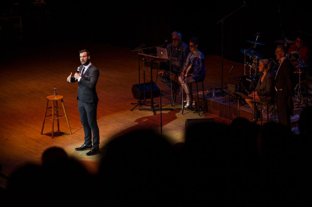 Graham Keay, Massey Hall NYE Comedy Extravaganza, Toronto 2014