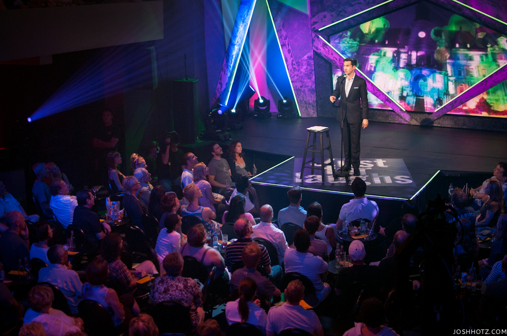 Jimmy Carr performs at Club Soda for talk of the fest in Montreal during the Just For Laughs Gala, 2012