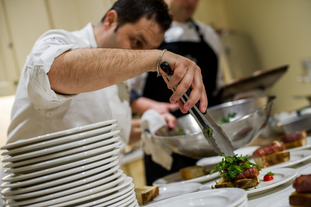 Cooking with GianLuca DiConstanzo at LCBO
