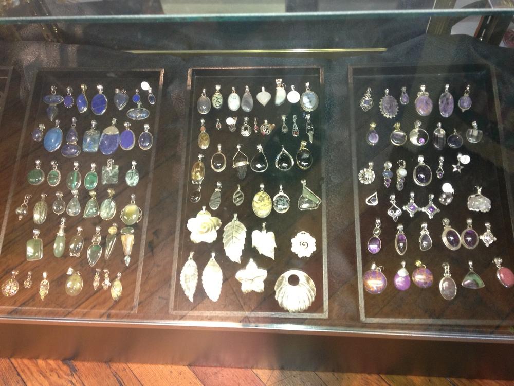 jewel, shell, silver pendants.jpg