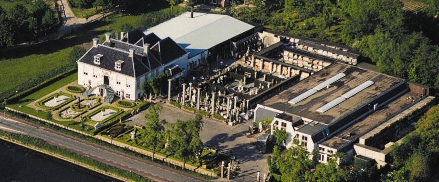 Air view of the Lindenhof estate