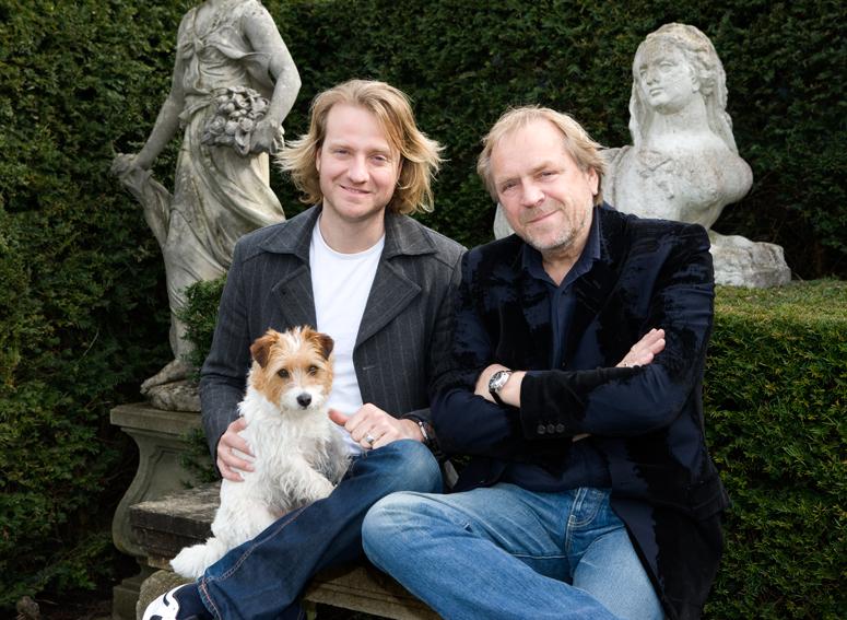 Bas (left) and Piet Jonker