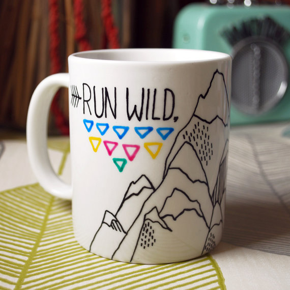 Run Wild, My Heart mug by INK BANDIT