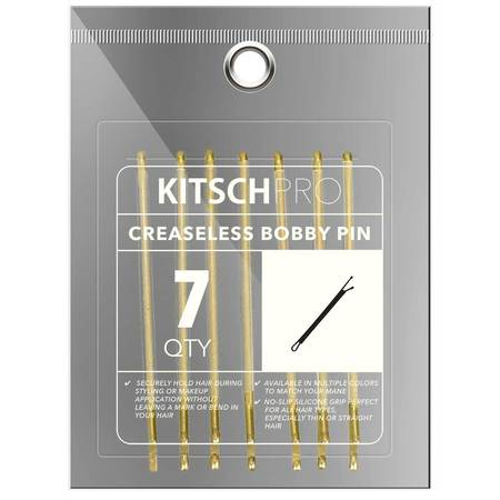 KITSCH Creaseless Bobby Pin - Gold - $12