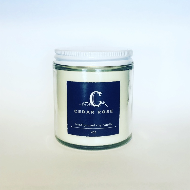 THE CABINET SALON Cedar Rose Candle - $18