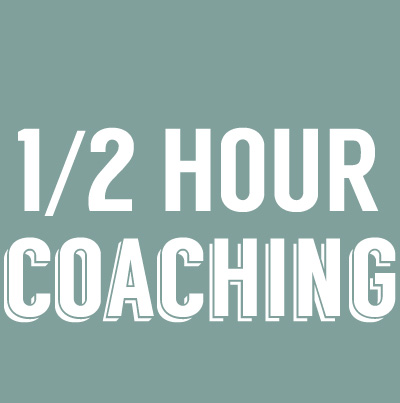 1/2 HOUR PRIVATE COACHING
