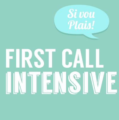 WEEKEND FIRST CALL INTENSIVE