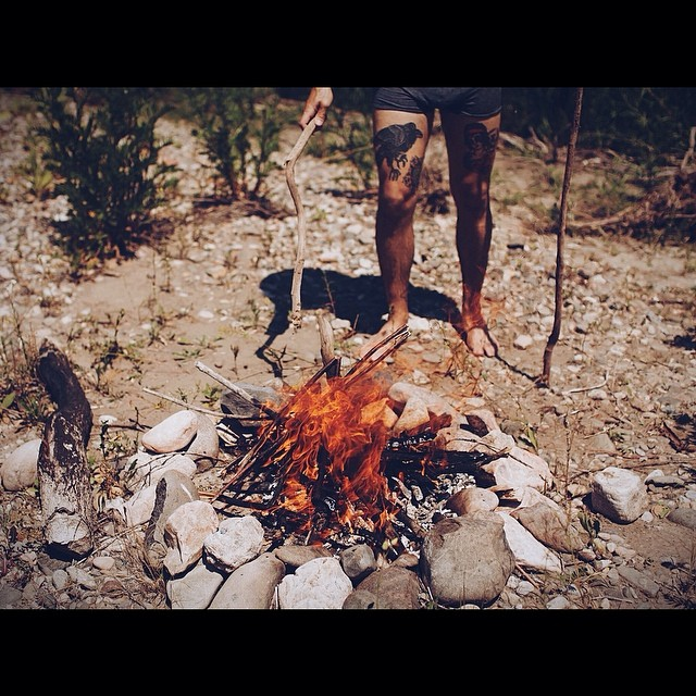 { The control of fire by early humans } 📷 by @rudyjude