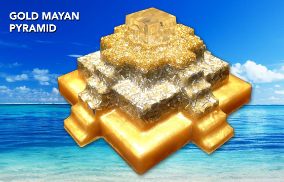 Summer Sale - All pyramids are on sale, up to 40% off. We have a New Gold Mayan Pyramid also, now in stock in our shop. http://www.akaida.com/store
