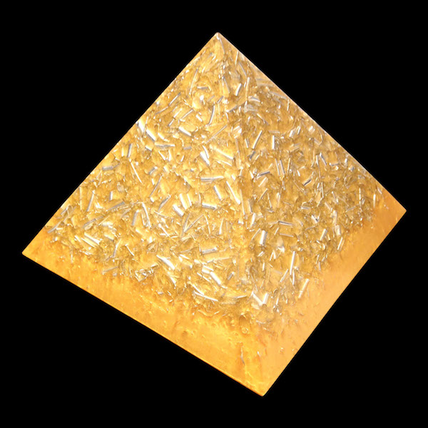 Gold Giza Pyramid