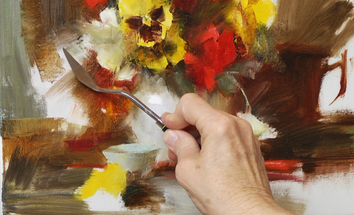 LAURA ROBB Online workshop course - Still Life painting in oils