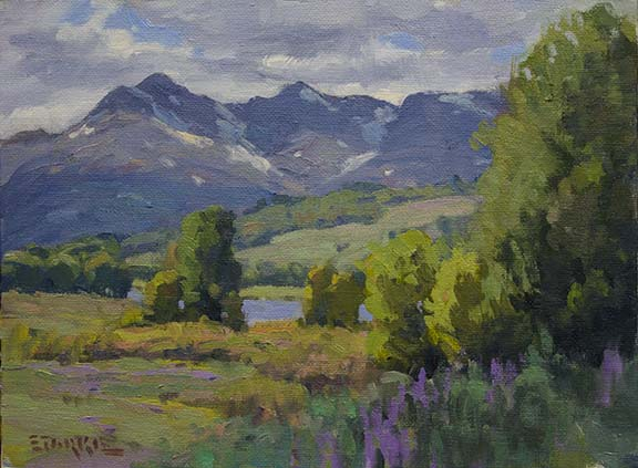 phil starke,oil painting,
