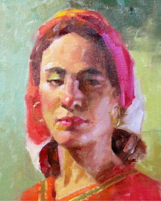 ned mueller oil portrait video