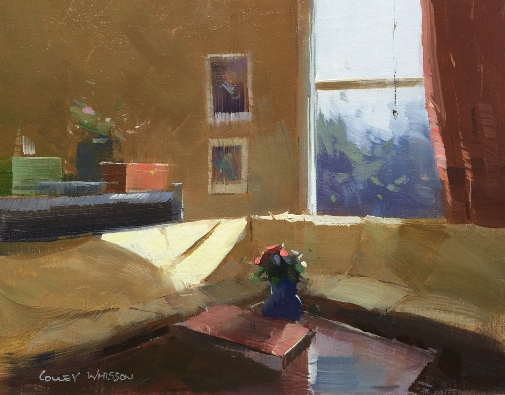 colley whisson oil painting video