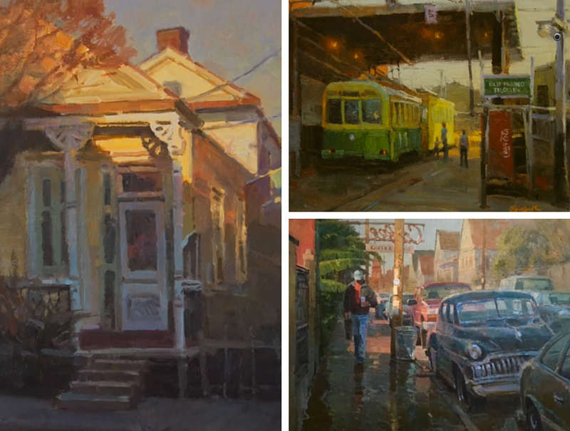 george strickland oil paint workshop
