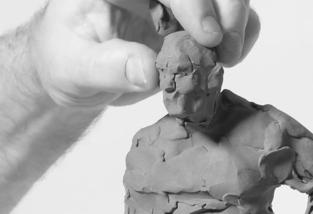 SIMON KOGAN Portrait and Figurative Sculpting Online Workshop in Clay