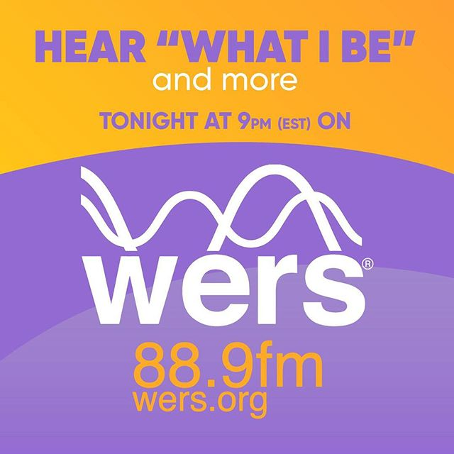 #whatibe and other songs will be played on the WERS FM tonight at 9pm est!  You can tune in on the web to hear!  So excited! @wers889