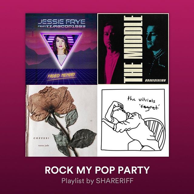 Extremely grateful for the continued support of #WhatIBe! It's now been added to the #RockMyPopParty playlist on @spotify! Check it out at the link in my story!
