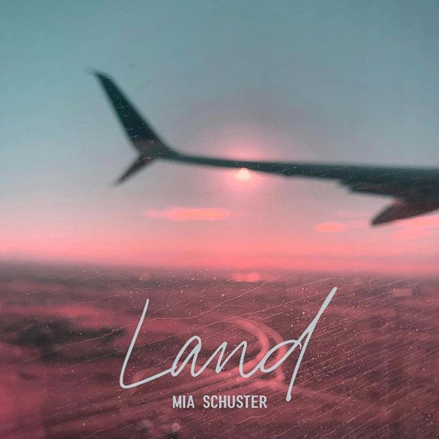 """So grateful to be a part of this project! Such a special artist and song. """"LAND"""" is out today on all platforms.  Produced by me and co-written with the lovely songstress herself @mia.schuster! Thanks to all involved in getting this magic out into the world! @gillygong for an amazing mix, @a.j.y.b for cover art, @thefoxboro for mastering, and our team @onerpm. Please download, stream, share, post, and love up on it. Link in bio!! Happy Monday y'all 💖"""