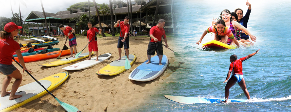 SURF & SUP LESSONS