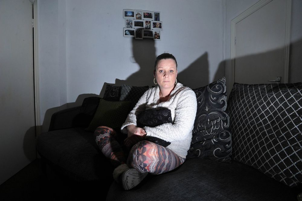 Lisa Way claims to see faces at the windows and floating limbs in her mid-terrace home.