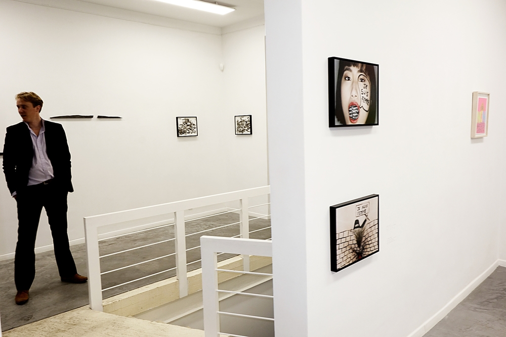 Installation view,   stroke of a pen  , IFA gallery, Brussels, February 2015
