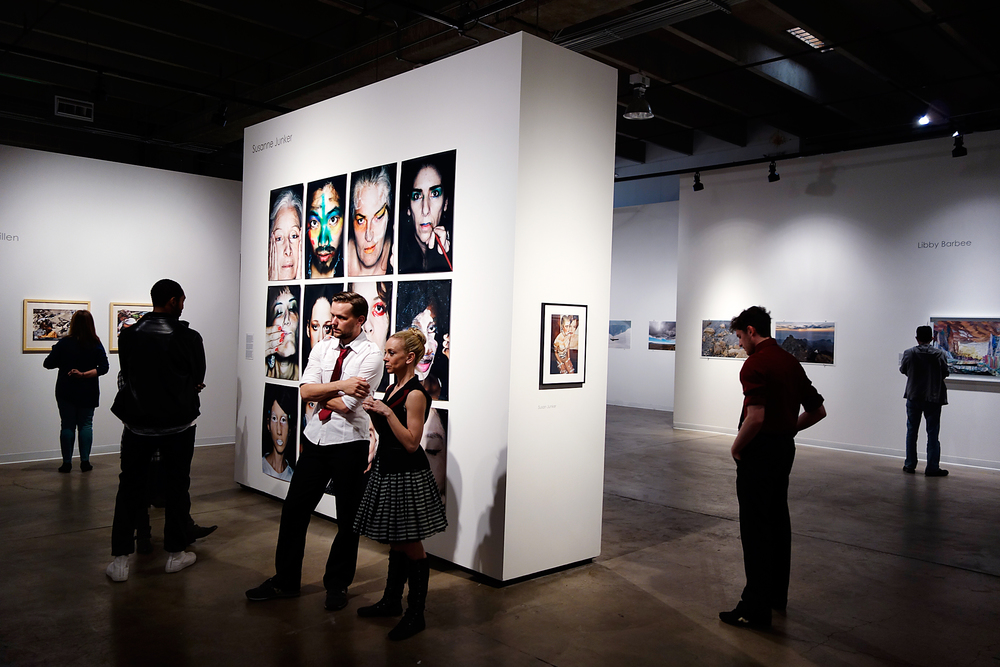 Installation view,   playing with beauty,   Red Line Art Center, Denver, USA, March 2015.