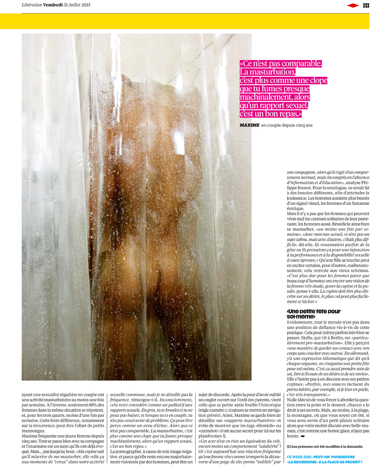 Publication for Libération, July 2015