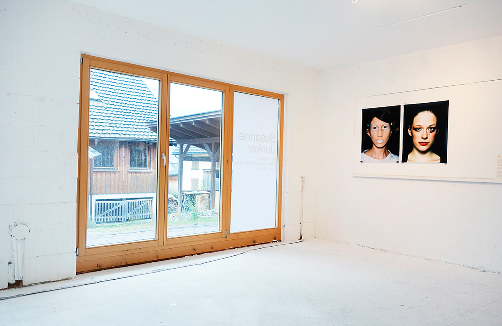Installation view, ID-Identity - work in progress, 12C Raum für Kunst, Schniefis, Austria.