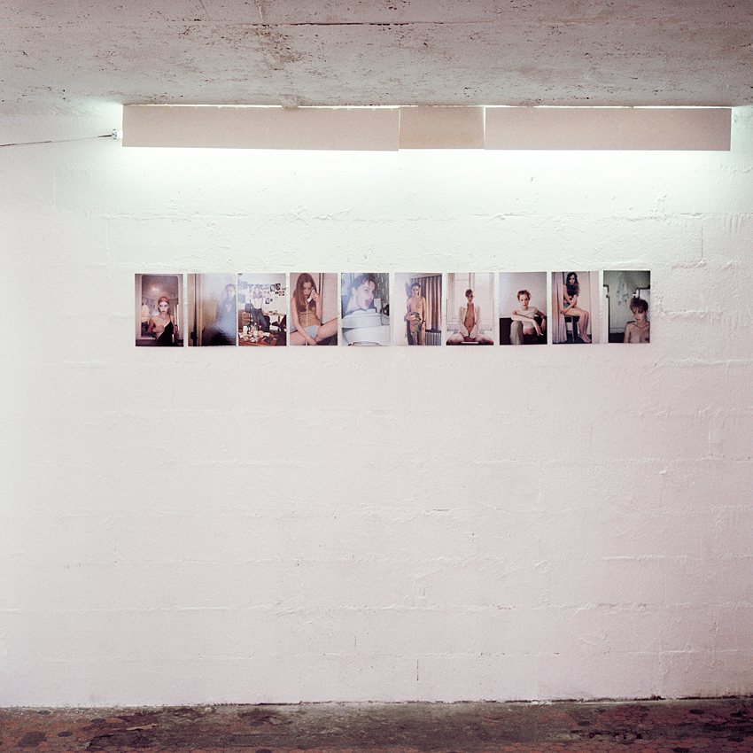 installation view, supermodels? Matrix Art Project (MAP), Paris, 1999