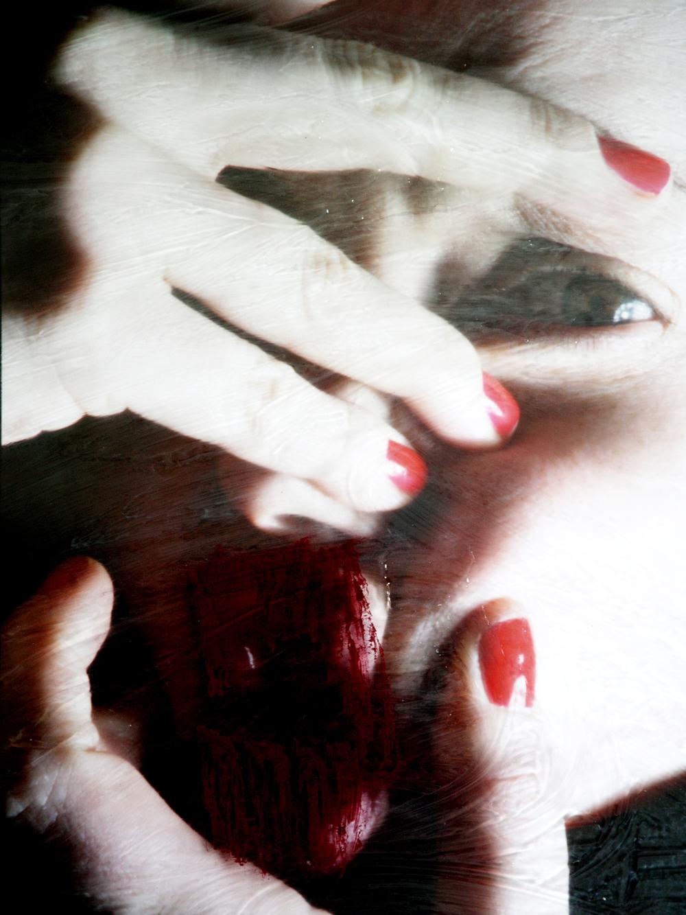 meyousexfriendwant #3  , self-portrait, lambda print, 60 cm x 80 cm, 2007