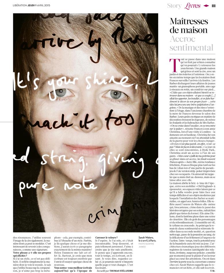 publication for Libération April 2015