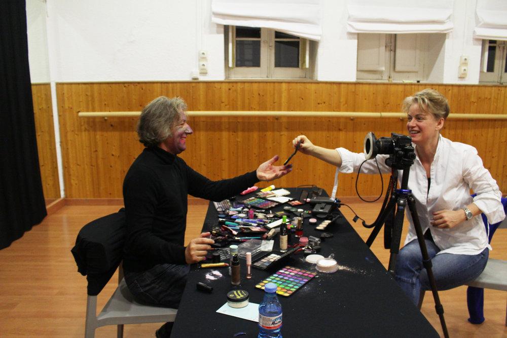 Behind the scenes: ID-Identity workshop at LA TERMICA Malaga, Spain, November 2018.
