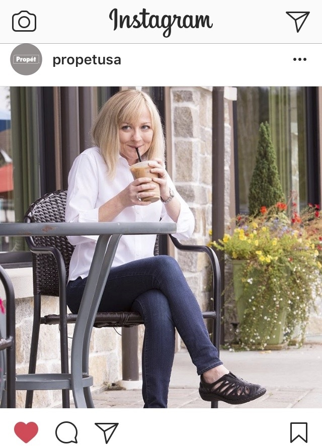 Photo for Propét Shoes featured in their social media campaign 2017.