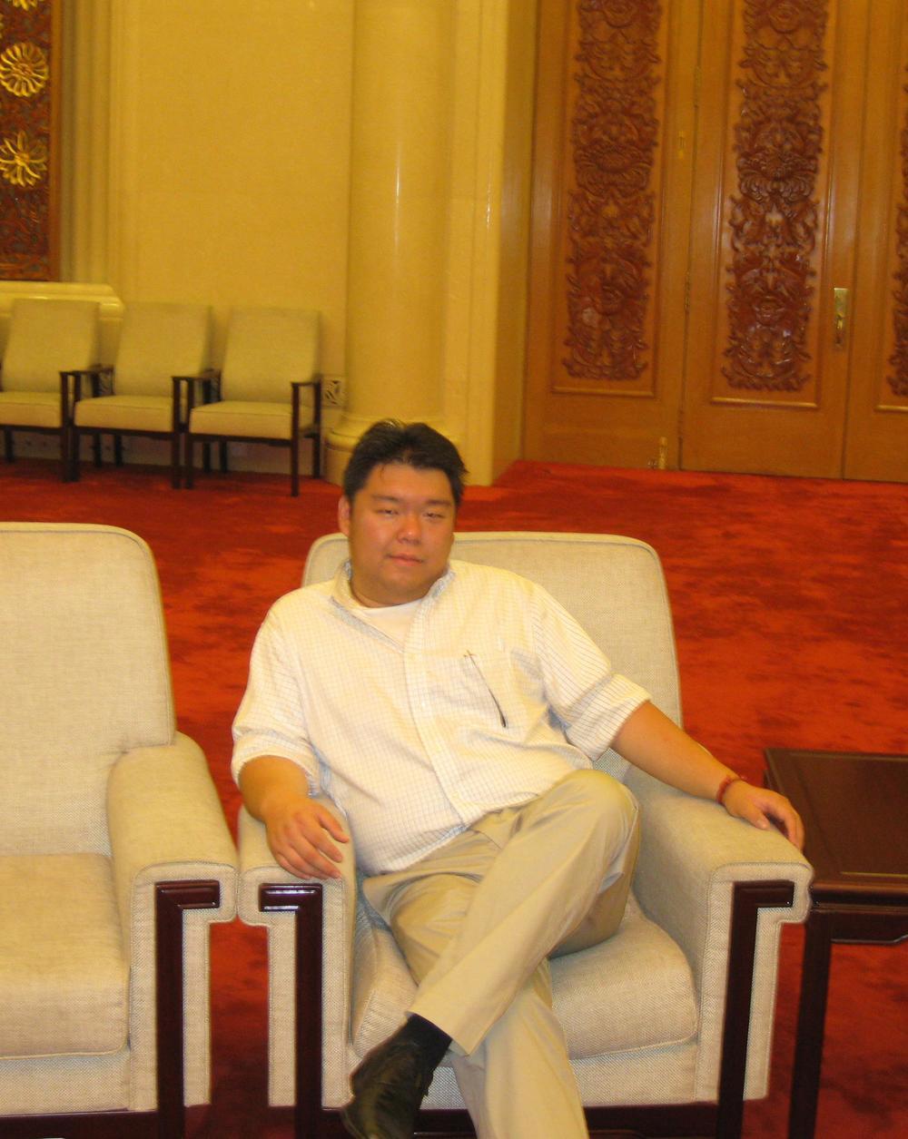 Zi-Heng Zhu, Esq.  Vice Presidentfor Institutional Development