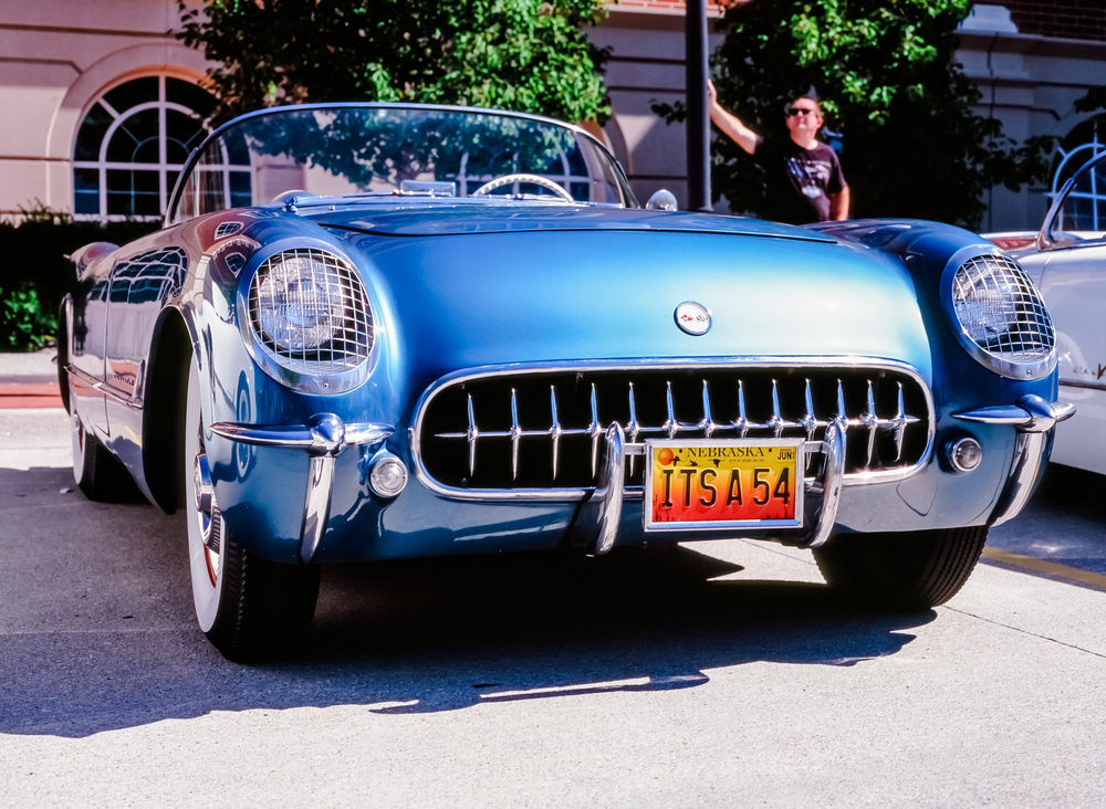 blue vette 54 and cool dude.jpg