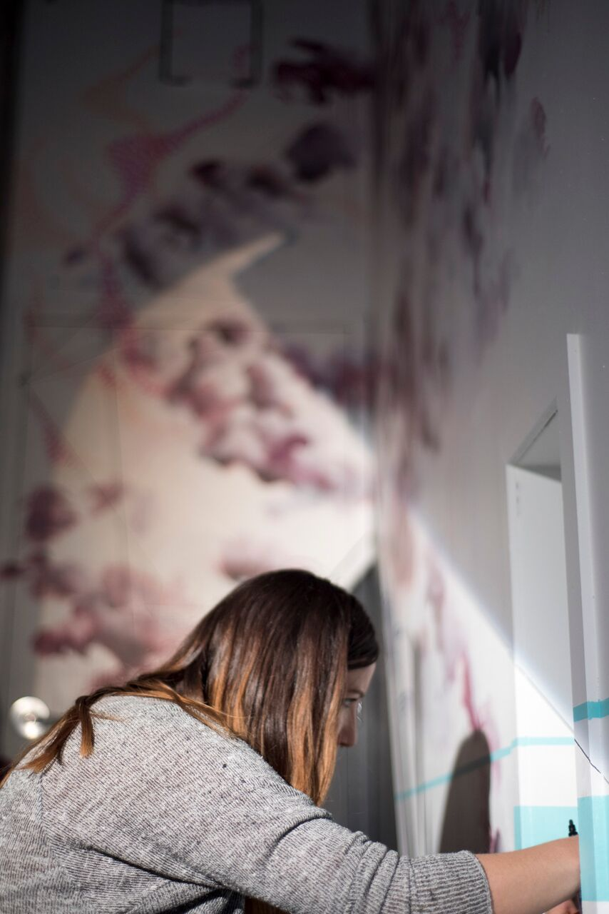 mural artist Leah Pantéa