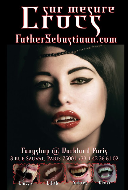 Father Sebastiaan's FangShop Paris @ Darkland by Appointment.