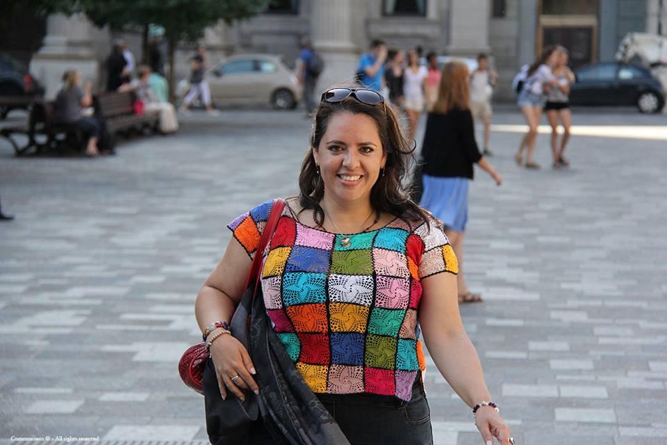 Berenice Acosta en el Viejo Puerto de Montreal, verano 2013.