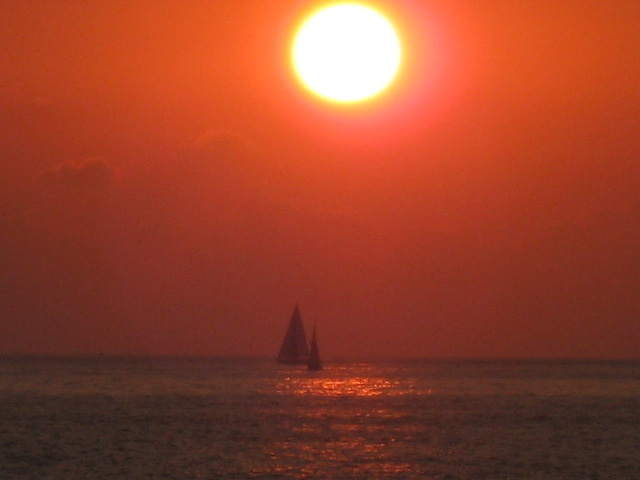 Puerto Vallarta sunset view. Photo by Berenice Acosta.