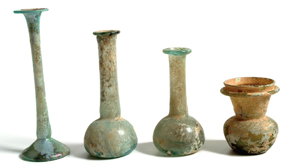 Ancient Egyptian Glass Bottles