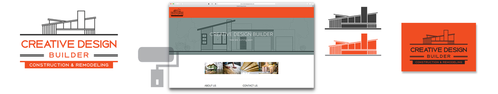 Creative Design Builder Logo Brand Identity Photography Website