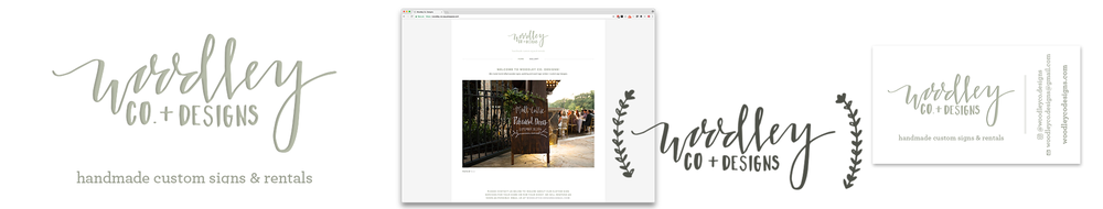 Woodley Co Designs   Brand Identity Website Business Card