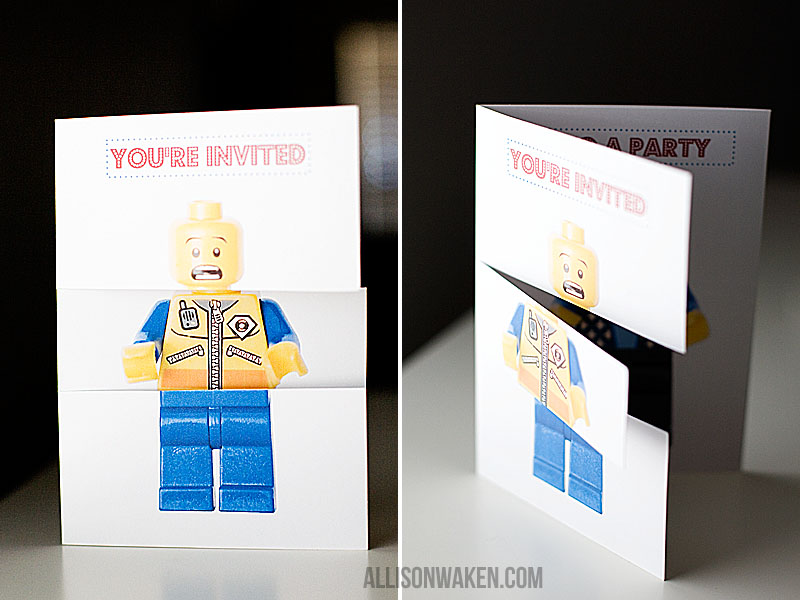 LEGO PARTY PART 1 - THE INVITATION! — All for the Memories