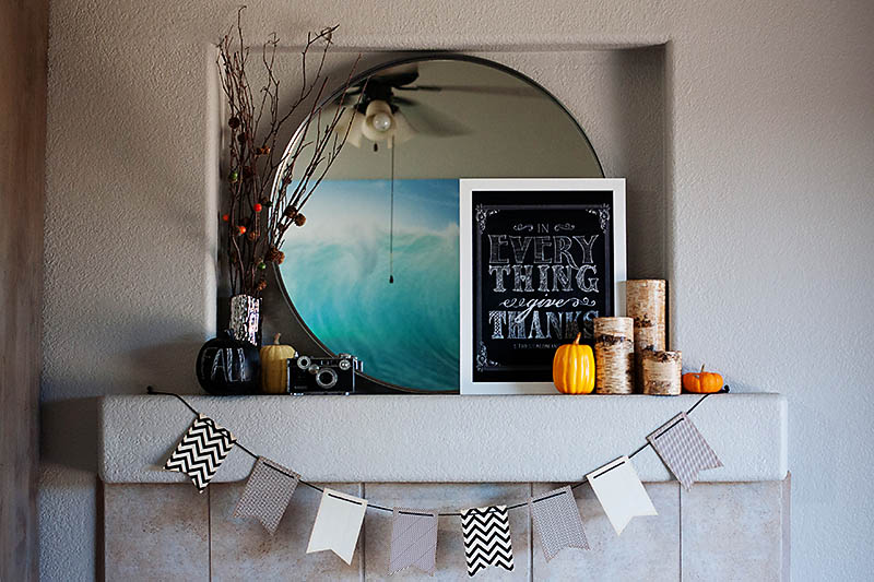 All for the Memories - Fall Mantle