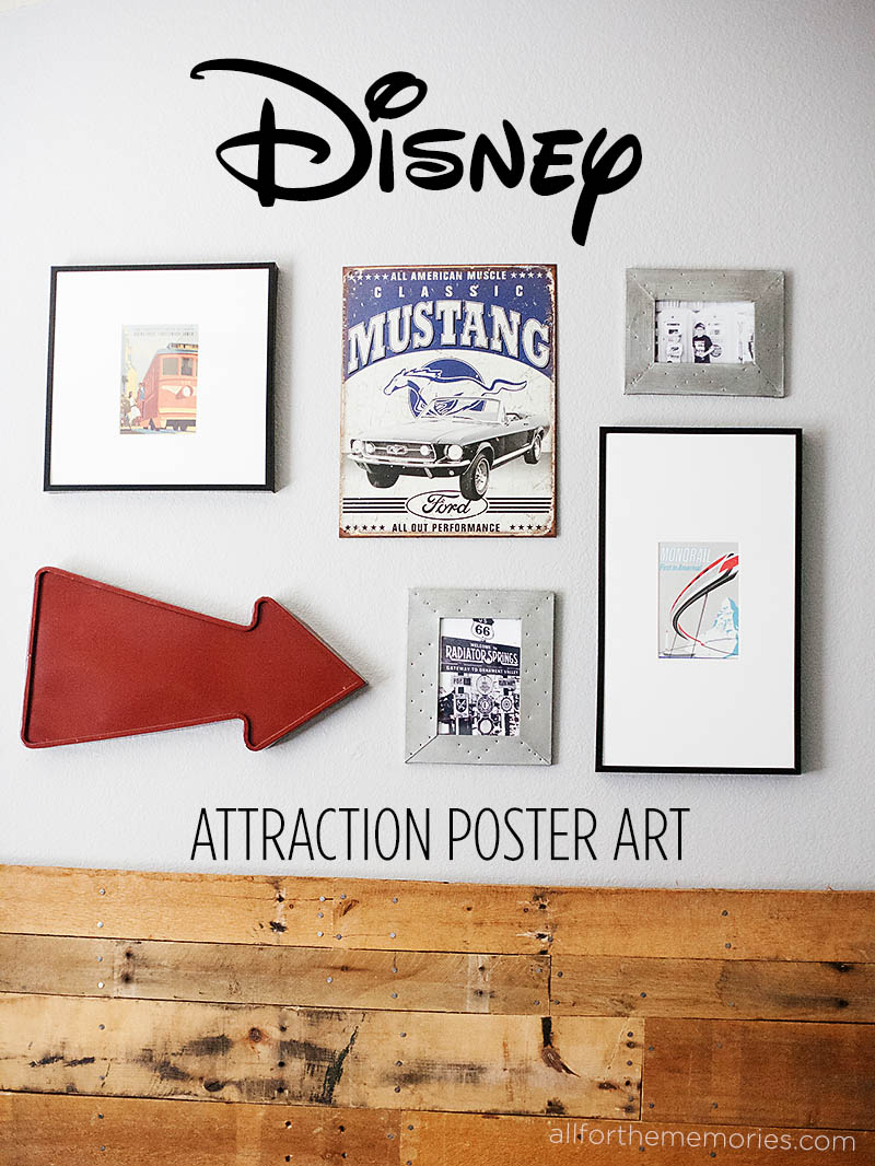 Disney Attraction Poster Art from All for the Memories blog